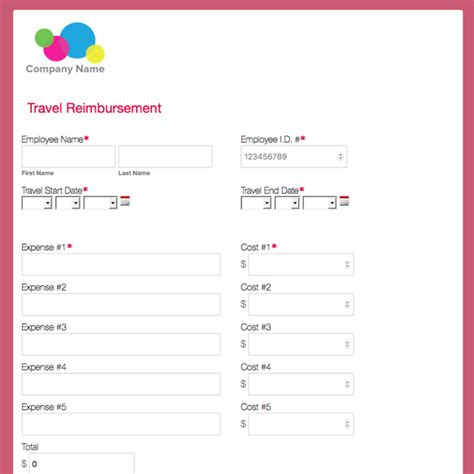 trip application form template travel forms templates pertamini co