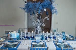 Chanukah Table Setting