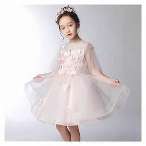 Dressing 150 Cm : flower girl white pink formal dress 100 160 cm sweet mommy ~ Teatrodelosmanantiales.com Idées de Décoration