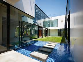 Fresh Modern House Features by Water Architecture On Water Fountains Water