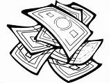 Coloring Money Wecoloringpage Pages sketch template
