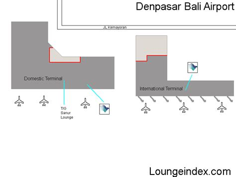 dps denpasar airport guide bali terminal map lounges
