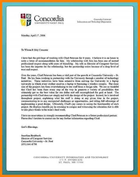 letter  recommendation  university admission