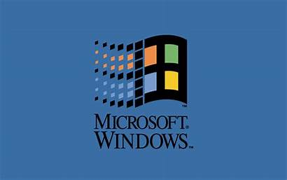 Windows Microsoft Classic Logos Wallpapers Tapety Throwback