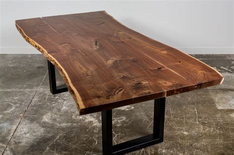 what is a live edge table city trees furniture live edge walnut dining table 95