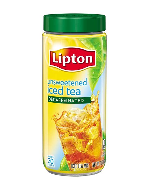 Amazon.com : Lipton Iced Tea Mix, Decaffeinated