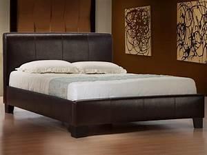 Größe King Size Bed : modern designer 4ft6 double 5ft king size leather bed black brown white cheap ebay ~ Frokenaadalensverden.com Haus und Dekorationen