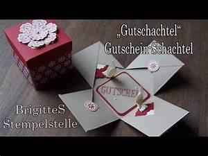 Gutscheine Verpacken Basteln : gutscheine verpacken gutschein als geschenk verpacke doovi ~ Frokenaadalensverden.com Haus und Dekorationen