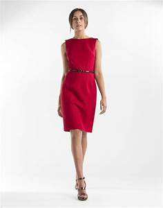 red dresses robe droite rouge With robe droite rouge