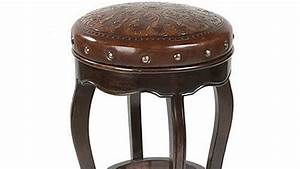 How To   Cover A Round Wooden Bar Stool