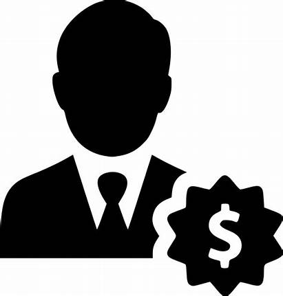 Person Finance Salesman Financial User Dollar Icon