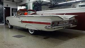 1960 Chevrolet Chevy Impala Convertible In White  U0026 348
