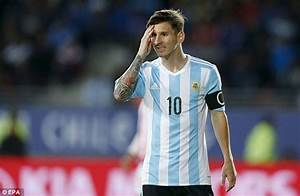 Lionel Messi kits son Thiago out in Newell's Old Boys polo ...