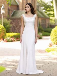 what are some cool informal wedding dress ideas the With informal wedding dresses for older brides