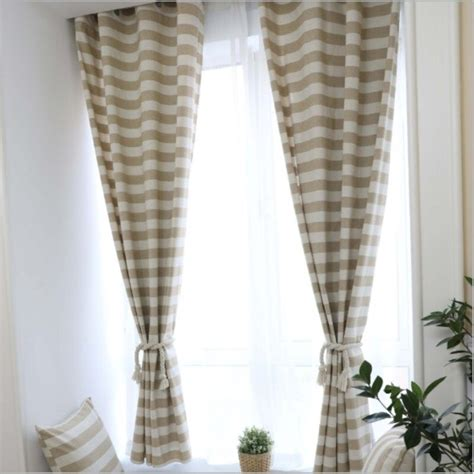 Bright bathroom wtih colorful curtains. Aliexpress.com : Buy JUYANG. Cotton semi blackout curtains. Simple style light coffee color ...