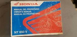 Honda Nt650v Deauville Owners Manual 37mbl9gfie For Sale