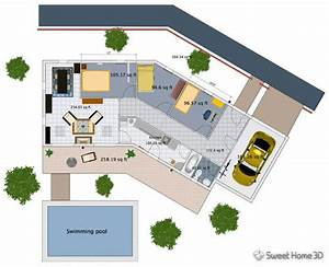 exemple de plan de maison en 3d gratuit plan de maison 3d With exemple maison sweet home 3d