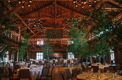 lodge wedding  trees  elizabeth anne designs