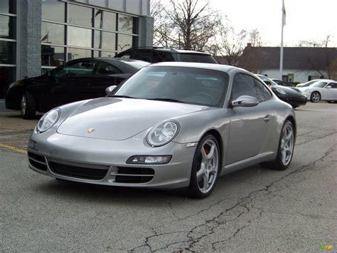 silver porsche carrera 2005 gt silver metallic porsche 911 carrera s coupe