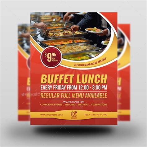 restaurant flyer template vol  owpictures graphicriver