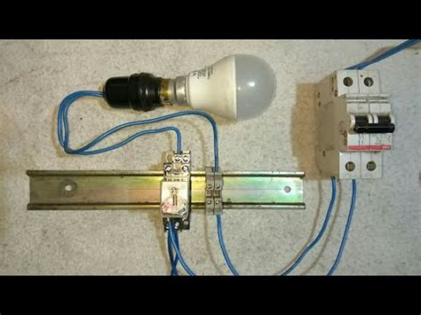 automatic emergency light ke wiring connection kaise kare electric guru youtube