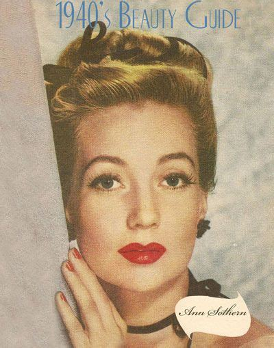 1940s Wartime Hairstyles by 1940s Makeup Guides 1940 S 1940s Makeup Makeup