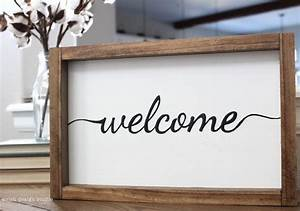 Say Hello To Our Welcome Sign Product Welsh Design Studio