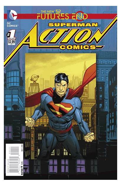 End Futures Comics Action Covers Exclusive Dc