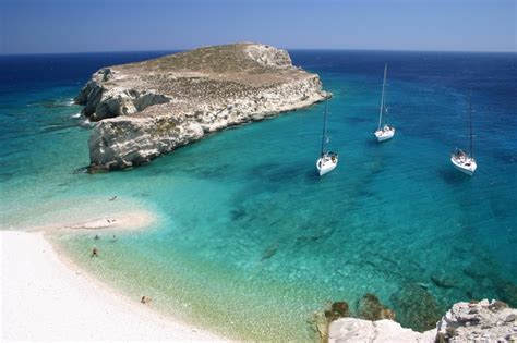itinerary in cyclades a sailing yacht sail in waters