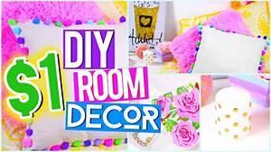 DIY $1 ROOM DECOR ♥ Tumblr Pinterest Inspired - YouTube