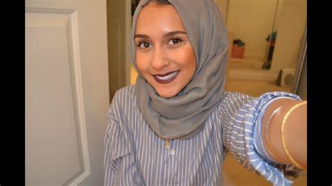 cute  simple hijab style youtube