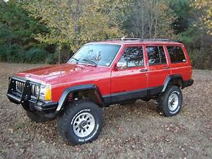 1990 Jeep Cherokee : wtrbigred4x4 1990 jeep cherokee specs photos modification info at cardomain ~ Medecine-chirurgie-esthetiques.com Avis de Voitures