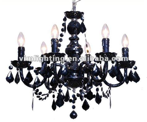 traditional cheap black acrylic chandelier lighting a708