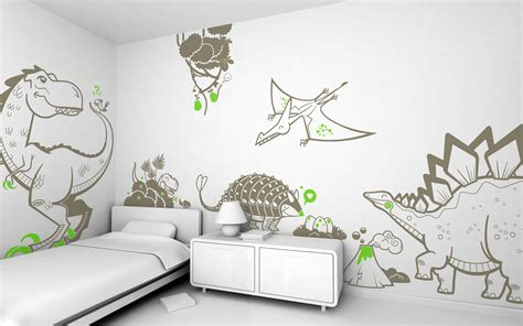 desain dinding kamar tidur minimalis kreatif