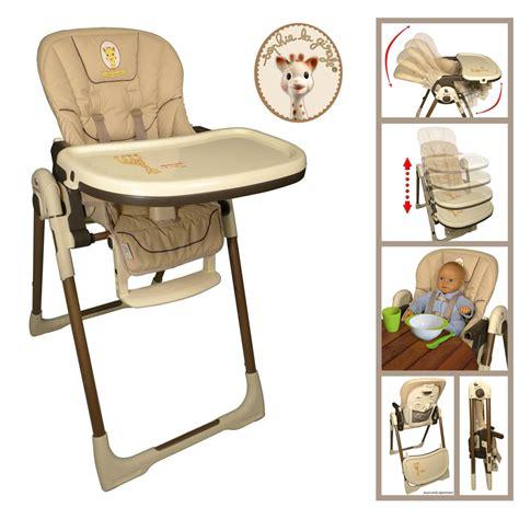 chaise haute des la naissance chaise haute bébé vision la girafe de renolux