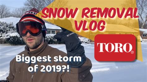 This was a fun vlog to put together where sanner talked the first storm chase chances of 2018 but also they talked about a very important tool: BIGGEST STORM OF 2019?! Snow removal Vlog 🔴Toro Power Clear 721 R🔴 - YouTube