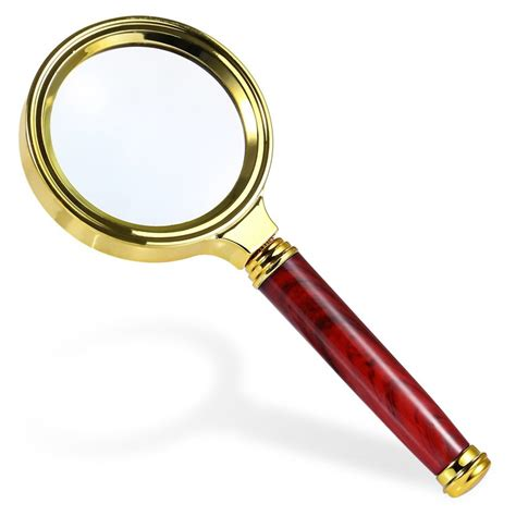 small magnifying glass with light compact stylish design portable magnifying glass light