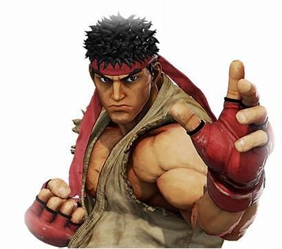 Ryu Fighter Street Render Arcade Characters Strike