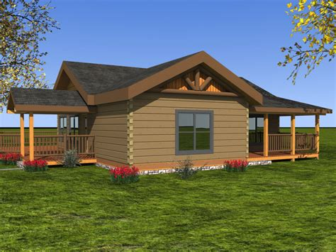 two bedroom cottage house plans log homes from 1 250 to 1 500 sq ft custom timber log homes