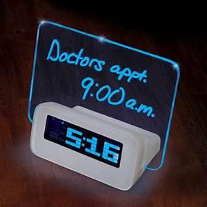 Written Reminder Alarm Clock ensures your poor memory is ...