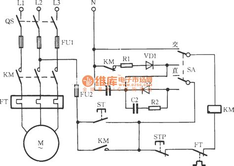 Contactor Power Saving Noiseless Operation Circuit