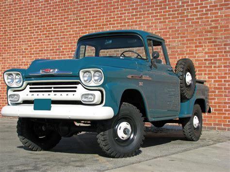 1958 Chevrolet Apache 12 Ton Pickup 70954