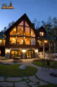 Beautiful House Plans For Lake View by Golden Eagle Log Homes Log Home Cabin Pictures Photos