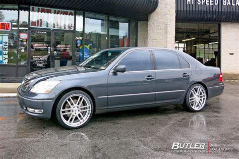 lexus ls   tsw rouen wheels exclusively