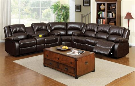 Rustic Sectional Sofa by Furniture Of America Cm6556 Winslow Transitional Rustic
