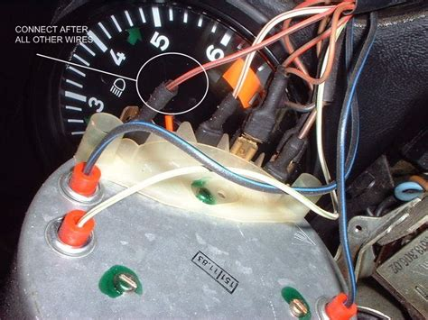 speedometer wiring pelican parts forums