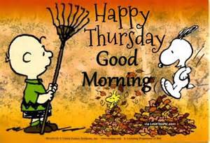 Snoopy Happy Thursday Good Morning Quote Pictures Photos