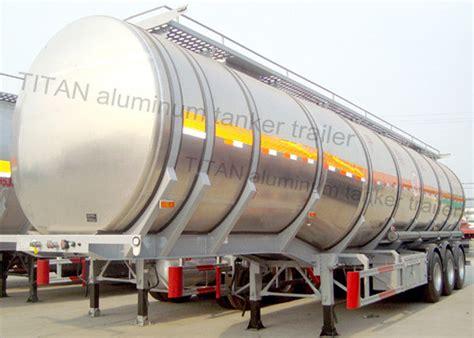 Tri Axle Aluminum Insulated Semi Trailer Tanker For