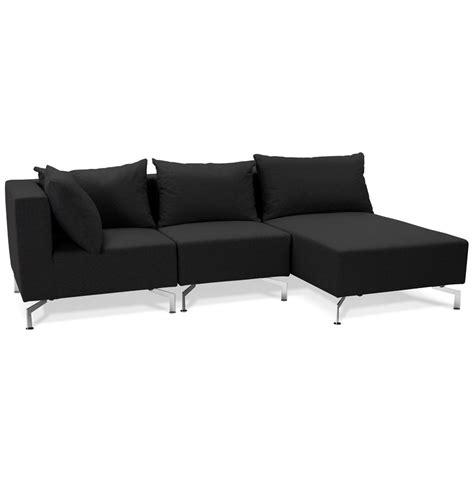 canapé voltaire canapé d 39 angle voltaire l shape noir canapé modulable