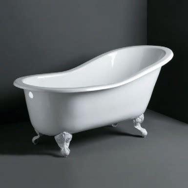 baignoire il 244 t en fonte 233 maill 233 e quot pattes de quot robinet and co baignoire